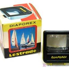 Cámara de fotos: VISOR PARA DIAPOSITIVAS DIAPOREX LESTRADE AÑOS 70. Lote 5031233