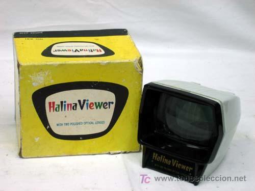 VISOR DE DIAPOSITIVAS HALINA VIEWER (Cámaras Fotográficas - Visores Estereoscópicos)