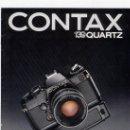 Cámara de fotos: CATALOGO CONTAX 139 QUARTZ EN CASTELLANO. Lote 24281539