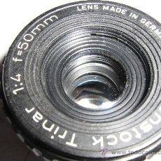 Cámara de fotos: PARA AMPLIADORA ROSCA 32 MM. FOCAL DE 50 MM.. Lote 27214076