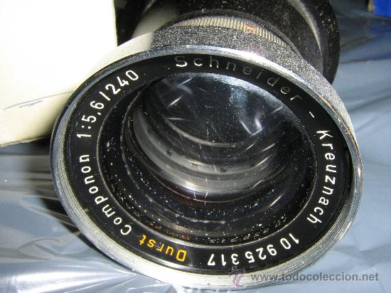 Cámara de fotos: PARA AMPLIADORA, OBJETIVO DURST 5,6 y F=240 mm - Foto 2 - 27441454