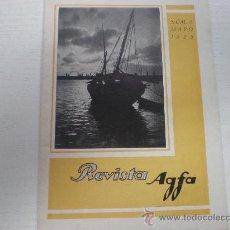 Cámara de fotos: FOTOGRAFIA - REVISTA AGFA - 1928. Lote 21819721