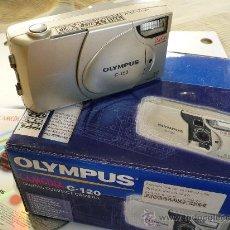 Cámara de fotos: OLYMPUS CAMEDIA C-120 DIGITAL CON VISOR OPTICO-RAREZA EN FOTO DIGITAL. Lote 15871108
