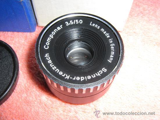 Cámara de fotos: PARA AMPLIADORA, ROSCA M39 mm. COMPONAR 3,5 de 50 mm - Foto 2 - 27441440