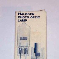 Cámara de fotos: OSRAM HALOGEN PHOTO OPTIC LAMP 64575 230V 1000W F6,3A.. Lote 142640644