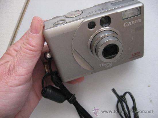 CAMARA DIGITAL AÑO 2000, CANON POWER SHOT S20, MUY BUENA. (Cámaras Fotográficas - Otras)