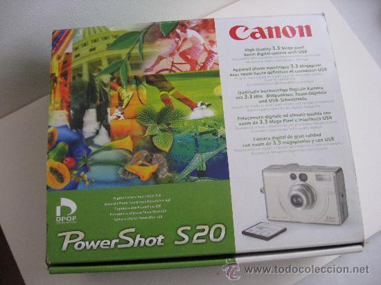 Cámara de fotos: CAMARA DIGITAL AÑO 2000, CANON POWER SHOT S20, MUY BUENA. - Foto 3 - 25281360