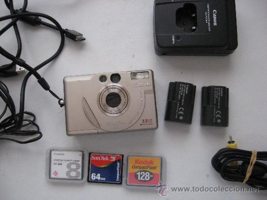 Cámara de fotos: CAMARA DIGITAL AÑO 2000, CANON POWER SHOT S20, MUY BUENA. - Foto 5 - 25281360