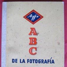 Cámara de fotos: ABC DE LA FOTOGRAFIA DE AGFA. AÑOS 50 . ENVIO GRATIS¡¡¡. Lote 13864583