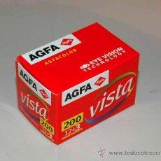 Appareil photos: AGFA VISTA FILM XRG 135/200 12+3 EXP (FUERA DE FECHA 06/04). Lote 13960672