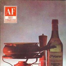 Cámara de fotos: REVISTA ARTE FOTOGRAFICO NUMERO 161. MAYO 1965. Lote 26882547