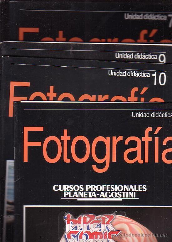 FOTOGRAFIA UNIDAD DIDACTICA - LOTE DE 52 FASCICULOS ( Nº 1 AL 52 ) - EDITA: PLANETA-AGOSTINI, OFERTA (Cámaras Fotográficas - Catálogos, Manuales y Publicidad)