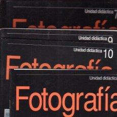 Cámara de fotos: FOTOGRAFIA UNIDAD DIDACTICA - LOTE DE 52 FASCICULOS ( Nº 1 AL 52 ) - EDITA: PLANETA-AGOSTINI, OFERTA. Lote 14426929