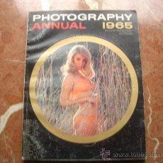 Cámara de fotos: PHOTOGRAPHY ANNUAL 1965 DOWNES, BRUCE -EDITOR. Lote 23393324