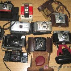 Cámara de fotos: ESTUPENDO LOTE DE ANTIGUAS CAMARAS FOTOGRAFICAS - . Lote 35868175
