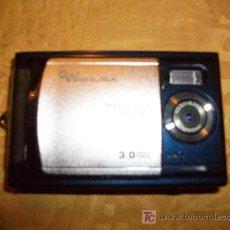 Cámara de fotos: CAMARA DIGITAL CON VIDEO VERLISA 3 MEGAPIXES REGALO FUNDA. Lote 27440221
