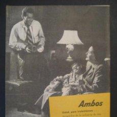 Cámara de fotos: ANTIGUA PUBLICIDAD ANUNCIO KODAK DE LOS AÑOS 50.. Lote 16847865
