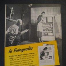 Cámara de fotos: ANTIGUA PUBLICIDAD ANUNCIO KODAK DE LOS AÑOS 50.. Lote 16847911