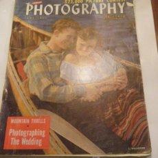 Cámara de fotos: REVISTA DE FOTOGRAFÍA PHOTOGRAPHY 1950. Lote 21289620