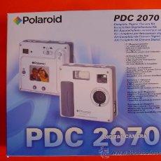 Cámara de fotos: CÁMARA DIGITAL POLAROID 2070 NUEVA. Lote 26985497