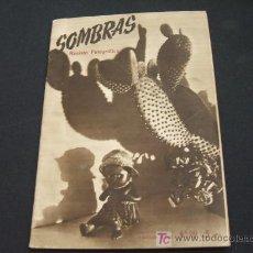 Cámara de fotos: SOMBRAS - REVISTA FOTOGRAFICA - AÑO IV - AGOSTO 1947 - Nº 39 - . Lote 19562664