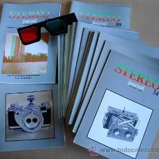 Cámara de fotos: REVISTA STEREO-JOURNAL 20 HEFTE 1984-91 STEREOSKOPIE. Lote 26875330