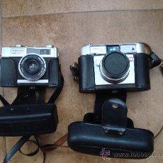Cámara de fotos: DOS CAMARAS DE FOTOS WERLISA COLOR. Lote 26296524