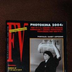 Cámara de fotos: FOTO VIDEO ACTUALIDAD Nº 191 DIC 2004. Lote 21617713