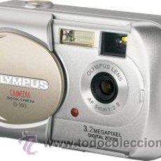 Cámara de fotos: CÁMARA DIGITAL COMPACTA OLYMPUS CAMEDIA D - 395 DE 3,2 MEGAPÌXELS Y ZOOM DIGITAL. DISEÑADA PARA USUA. Lote 26450664