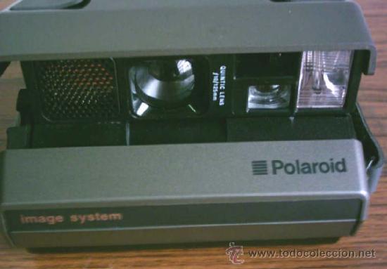 CAMARA DE FOTOS POLAROID .. IMAGEN SYSTEM INSTANTÁNEA QUINTIC LENS F10/125MM (Cámaras Fotográficas - Otras)