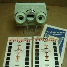 Cámara de fotos: VISOR ESTEREOSCOPICO 3D - STEREOCLIC SUPER + 2 STEREOCARTE LOURDES -. Lote 34732908