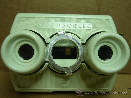 Cámara de fotos: VISOR ESTEREOSCOPICO 3D - STEREOCLIC SUPER + CAJA + VISTAS STEREOCARTE + INDICE - Foto 2 - 26337425