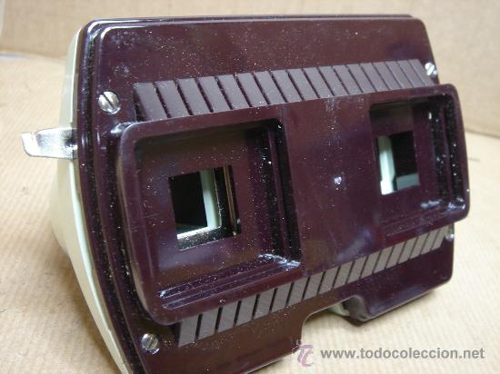 Cámara de fotos: VISOR ESTEREOSCOPICO 3D - STEREOCLIC SUPER + CAJA + VISTAS STEREOCARTE + INDICE - Foto 4 - 26337425