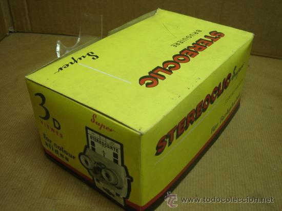 Cámara de fotos: VISOR ESTEREOSCOPICO 3D - STEREOCLIC SUPER + CAJA + VISTAS STEREOCARTE + INDICE - Foto 7 - 26337425
