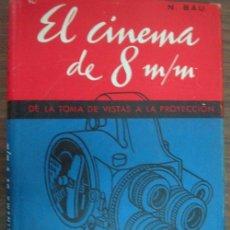 Cámara de fotos: EL CINEMA DE 8 M/M. BAU, N. . Lote 23028991