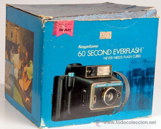 Cámara de fotos: KEYSTONE 60 SECOND EVERFLASH - COMPLETA - CAJA E INSTRUCCIONES - Foto 7 - 23669456