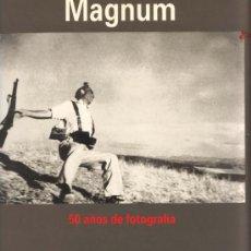 Cámara de fotos: MAGNIFICO LIBRO 50 AÑOS DE LA AGENCIA MAGNUN. Lote 26513175