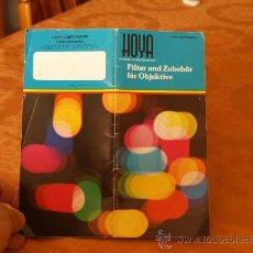 Cámara de fotos: HOYA / CATALOGO PUBLICITARIO / . Lote 27588266