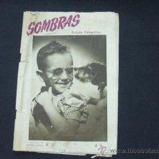 Cámara de fotos: REVISTA FOTOGRAFICA - SOMBRAS - Nº 30 - NOVIEMBRE 1946 - . Lote 25123448