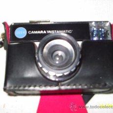 Cámara de fotos: CAMARA KODAK INSTAMATIC CON FUNDA - FUNCIONA. Lote 26880371