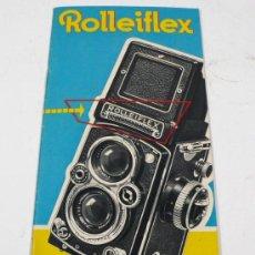 Cámara de fotos: ROLLEIFLEX, CATÁLOGO 1O PAG EN ALEMÁN. Lote 26681230