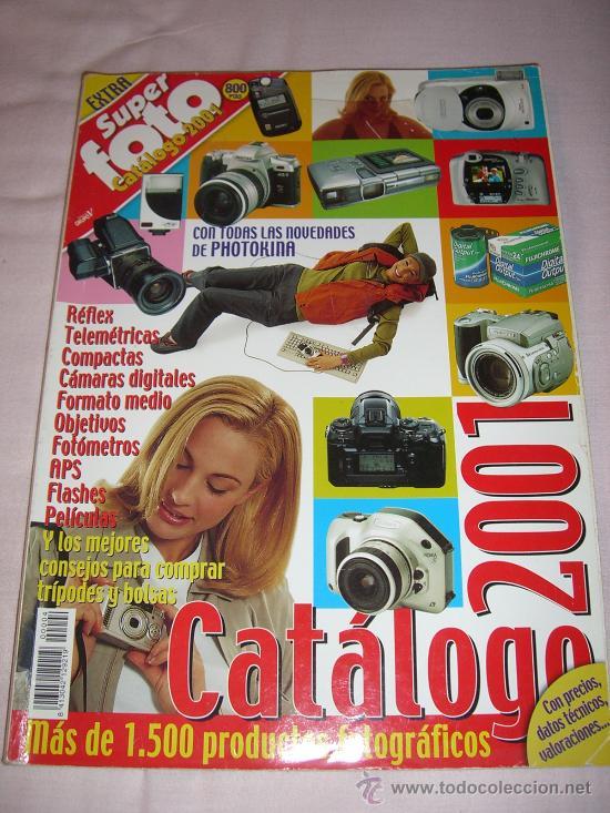 REVISTA SUPER FOTO PRÁCTICA (CATÁLOGO 2001) (Cámaras Fotográficas - Catálogos, Manuales y Publicidad)