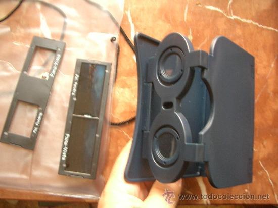 Cámara de fotos: Visor estereoscómpico panorámico plegable y con bolsa para llevar. - Foto 5 - 28037187
