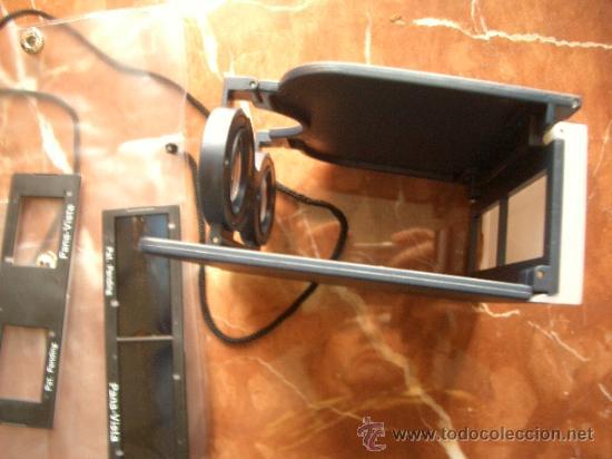 Cámara de fotos: Visor estereoscómpico panorámico plegable y con bolsa para llevar. - Foto 4 - 28037187