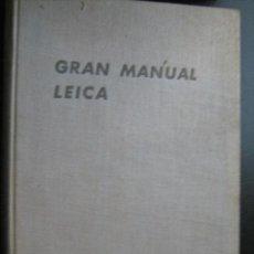 Cámara de fotos: GRAN MANUAL LEICA. MORGAN, WILLARD D. Y LESTER, HENRY M. 1953. Lote 28414751