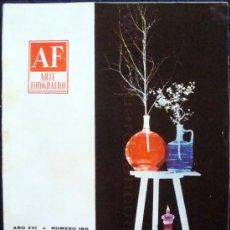 Cámara de fotos: REVISTA AF ARTE FOTOGRÁFICO AÑO XVI MAYO DE 1967, Nº 185.. Lote 28422618