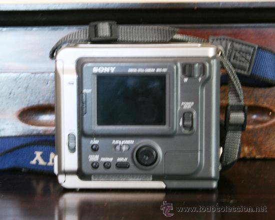 Cámara de fotos: ANTIGUA CAMARA DE FOTOS DIGITAL SONY DE DISQUETE - PARA COLECCIONISTAS - Foto 2 - 29045300