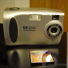 Cámara de fotos: HP PHOTOSMART 215 CÁMARA DIGITAL - FUNCIONA -. Lote 29138805