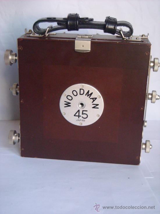 Cámara de fotos: Horseman Woodman 4x5 pulgadas schneider kreuznach xenar 150mm f4,5 copal 0 exc+++ - Foto 3 - 29279626