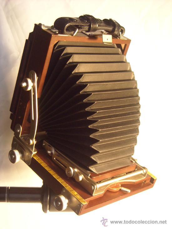 Cámara de fotos: Horseman Woodman 4x5 pulgadas schneider kreuznach xenar 150mm f4,5 copal 0 exc+++ - Foto 2 - 29279626